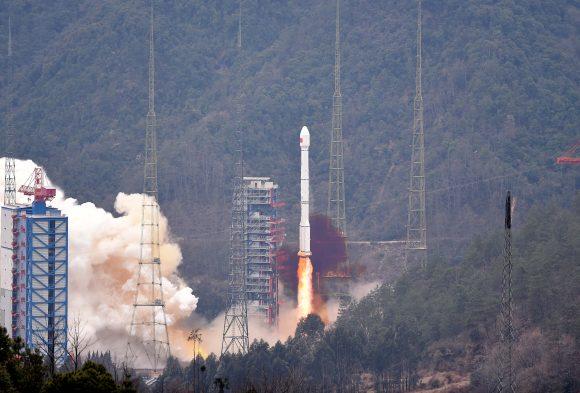 Lanzamiento del Beidou 21 (Xinhua).