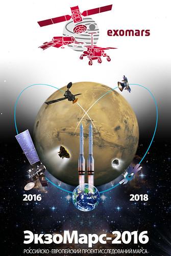 Póster de la misión (Roscosmos).
