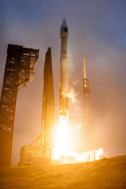Lanzamiento de la Cygnus OA-6 (NASA).
