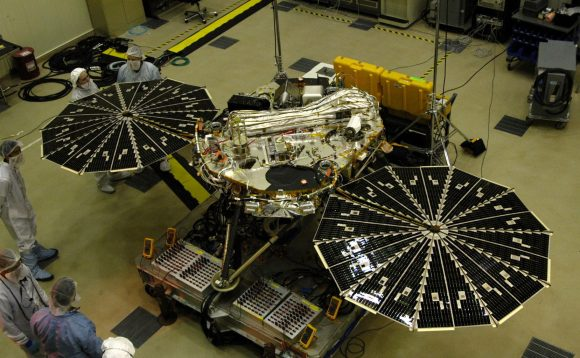 Sonda InSight de la NASA (Lockheed Martin).