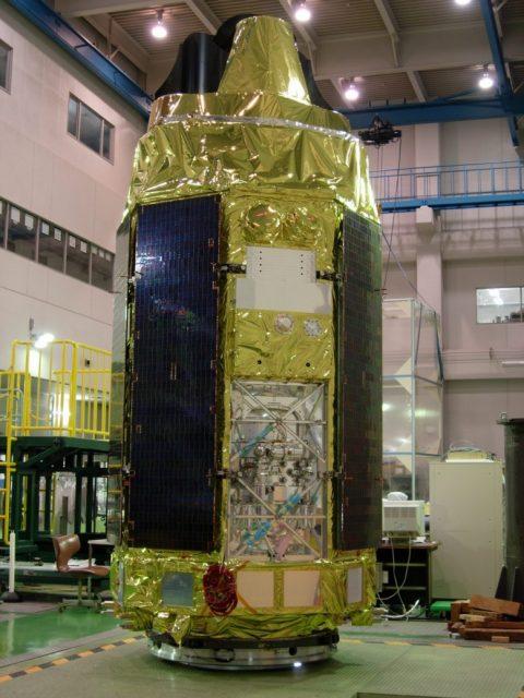 Telescopio espacial de rayos X Suzaku (JAXA).