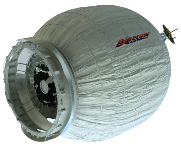 Módulo experimental BEAM (NASA).