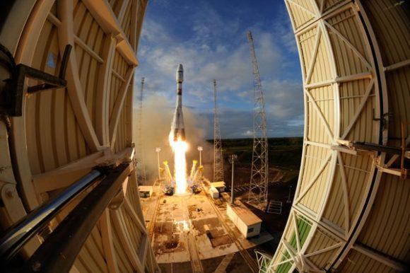 Lanzamiento de la misión VS14 (Arianespace).