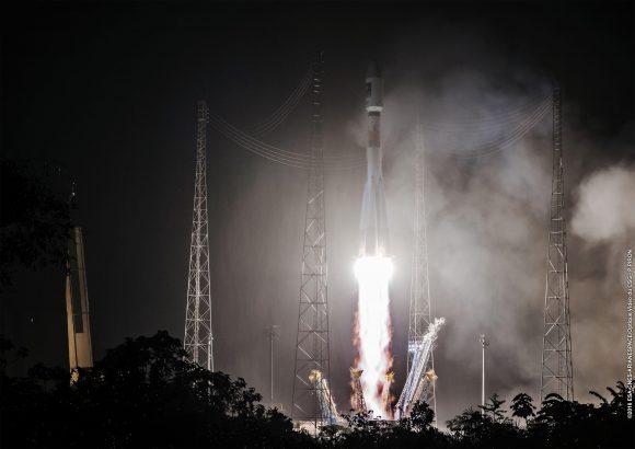 Lanzamiento de la misión VS15 (Arianespace).
