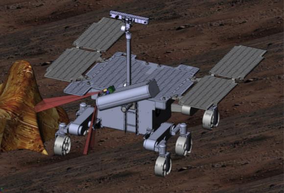 Rover ExoMars 2020 (ESA).