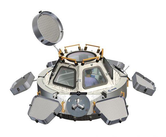 Módulo Cupola (ESA/NASA).