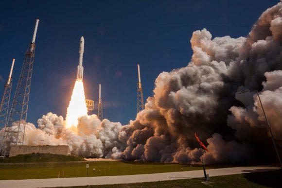 Lanzamiento del MUOS-5 (ULA).