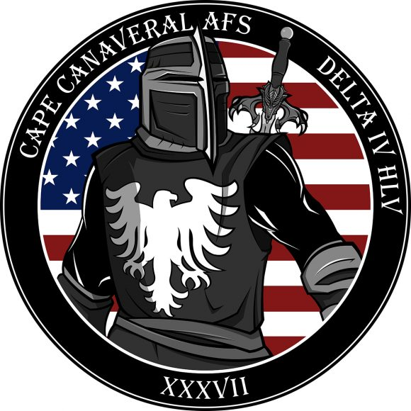 Póster de la misión de la USAF (NRO).