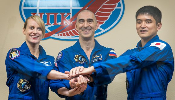 Expedition 48 Crew Press Conference