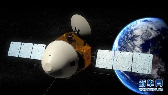 La sonda china a Marte de 2020 (Xinhua).
