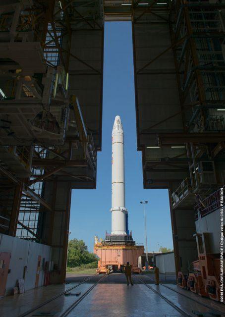 EAP de la misión VA232 (Arianespace).