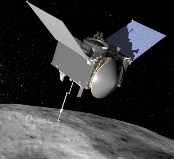 OSIRIS-REx (NASA).