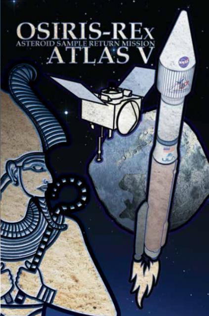 Póster del lanzamiento (ULA).