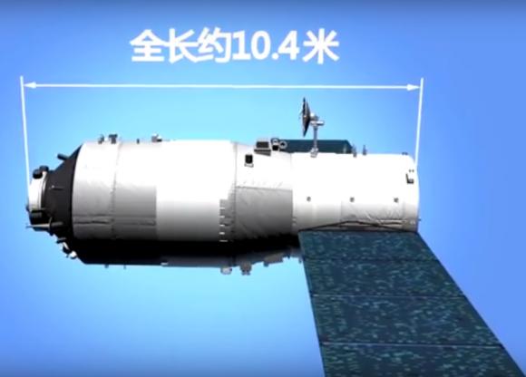 Tiangong 2 (CCTV).