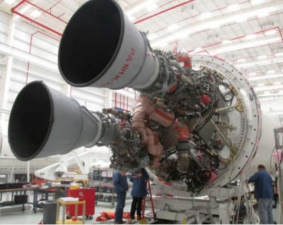 Los nuevos motores rusos RD-181 del Antares 230 (Orbital ATK).