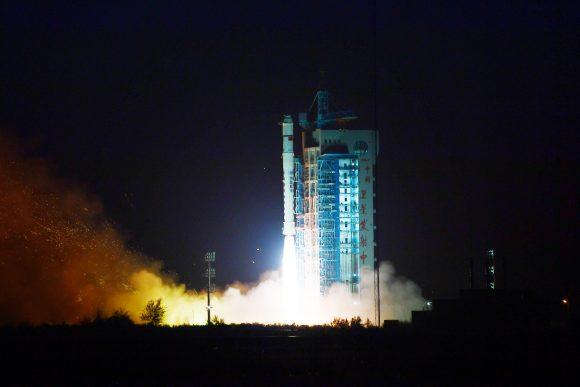 Lanzamiento del Yunhai 1-01 (Xinhua).