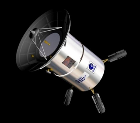 Orbitador POP para el estudio de Plutón (ESA).