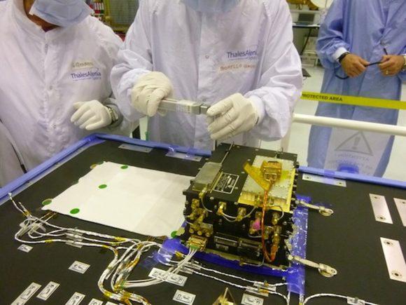 Instrumento Electra de la NASA a bordo de ExoMars TGO (NASA).
