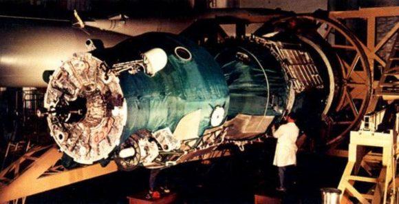 La Soyuz 3, una Soyuz 7K-OK.
