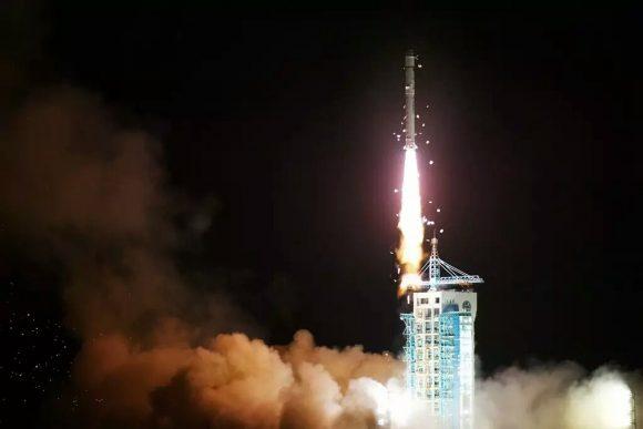 Lanzamiento del TanSat (Xinhua).