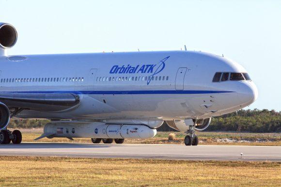 Pegasus XL CYGNSS Arrival at CCAFS