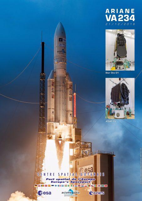 Misión VA234 (Arianespace).