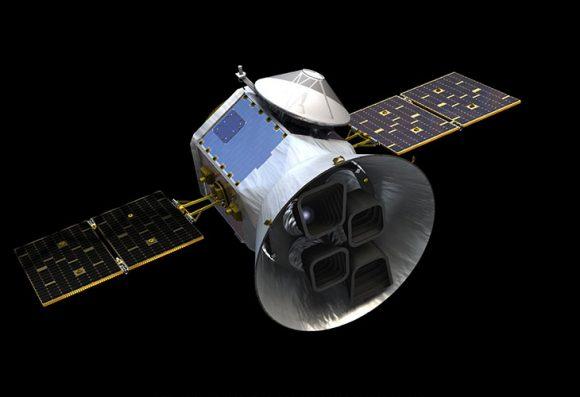 Satélite TESS de la NASA para buscar exoplanetas (NASA).