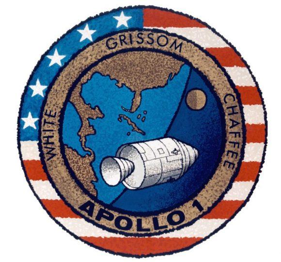 Emblema del Apolo 1 (NASA).