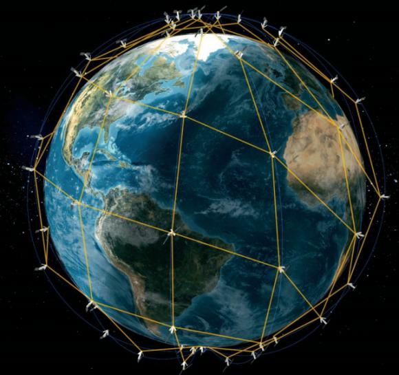Constelación Iridium NEXT (Iridium).