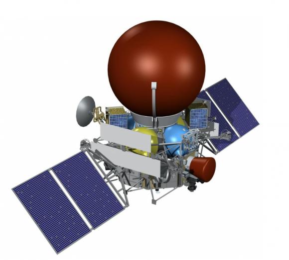 Diseño actual de la sonda Venera D rusa (NPO Lávochkin).