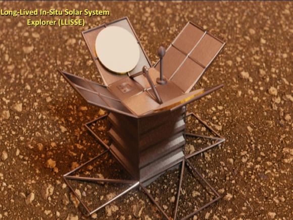 Pequeña sonda de la NASA de larga duración para el estudio de la superficie de Venus (NASA).