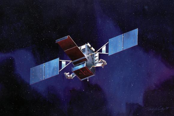 Satélite SBIRS GEO de alerta temprana (Lockheed Martin).