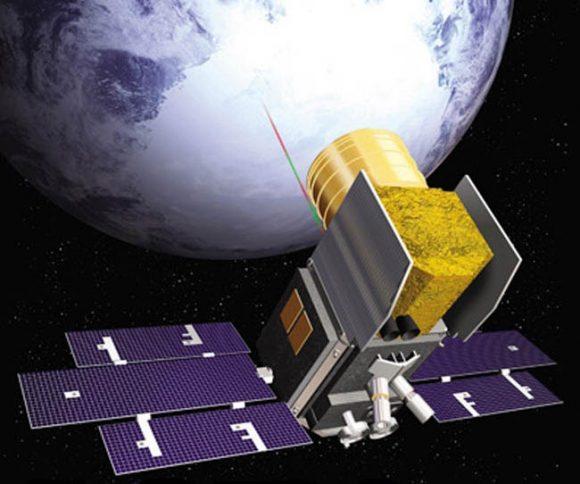 Satélite de la NASA ICESAT 2 (NASA).