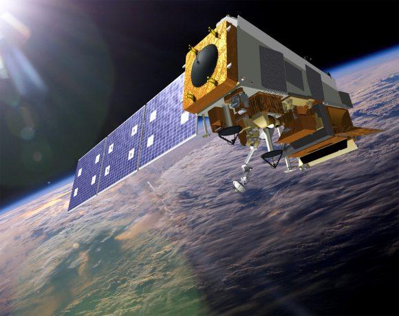 Satélite JPSS de la NASA (NASA).