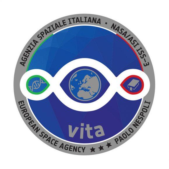 Emblema de la misión Vita del astronauta de la ESA Paolo Nespoli (ESA).