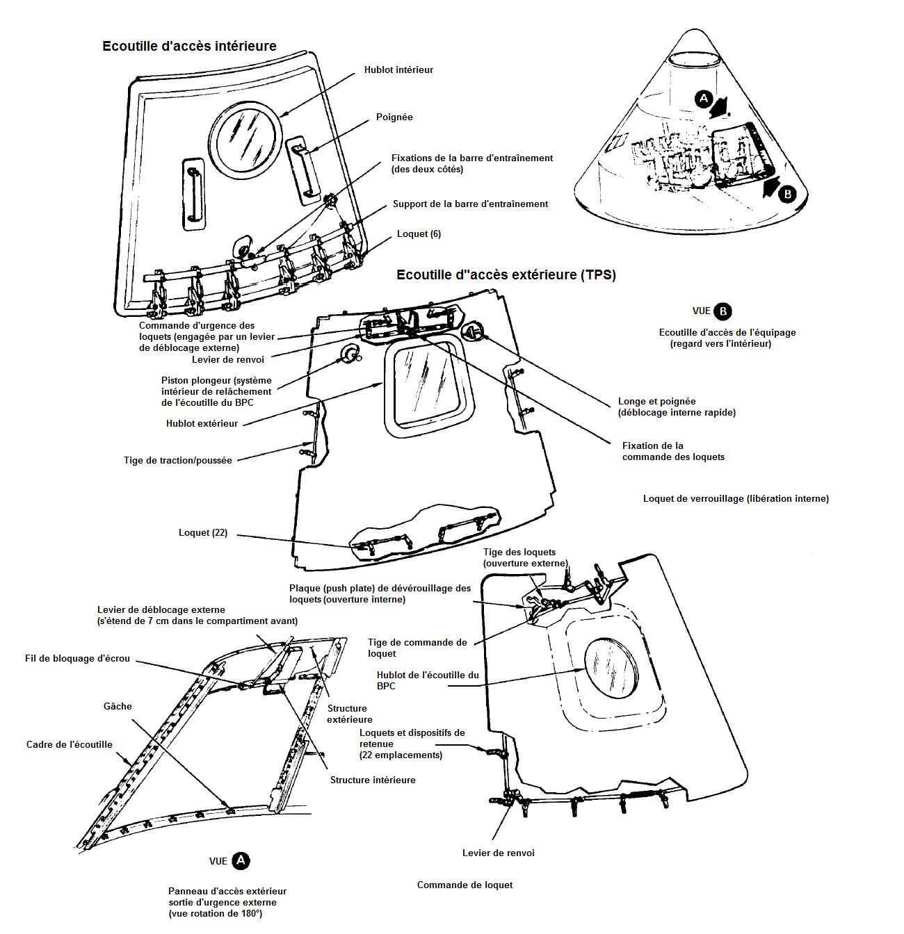 apollo capsule diagram - HD1300×1344