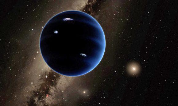 Posible aspecto del noveno planeta (Caltech).