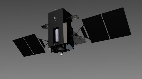 Otra vista del SBIRS GEO (Lockheed Martin).