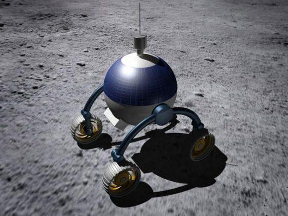 Uno de los prototipos del rover de Synergy Moon (Synergy Moon).
