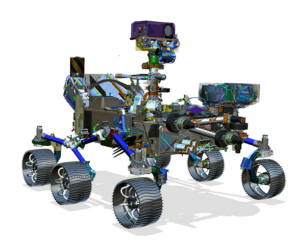 Rover Mars 2020 (NASA).