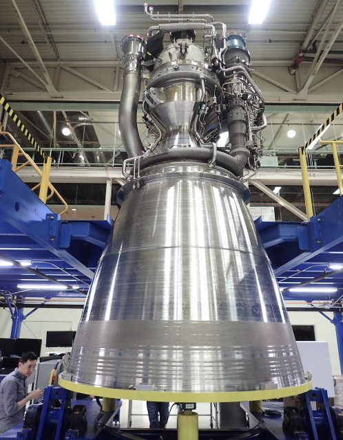 Otra vista del BE-4 (Blue Origin).