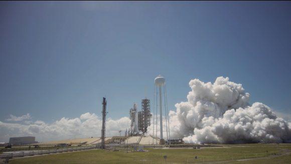 Encendido de prueba del 27 de marzo (SpaceX).
