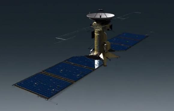 La sonda EMFM antes conocida como Europa Clipper en 2015 (NASA).