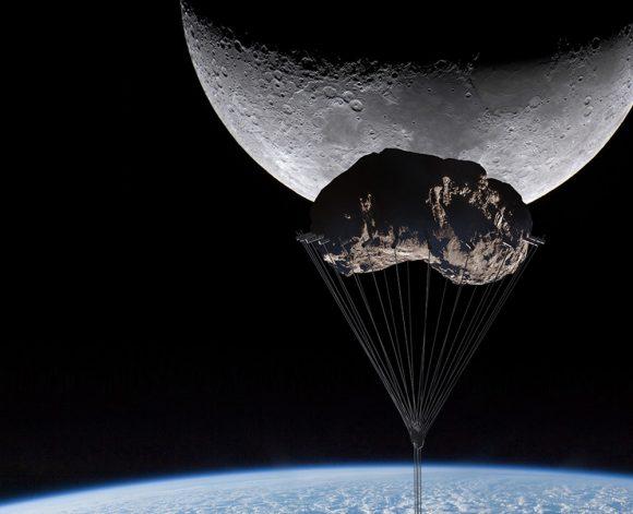 Usemos un asteroide de contrapeso a 50.000 km de distancia (Clouds AO).