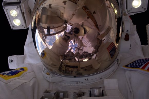 Kimbrough durante la EVA 41 (NASA).