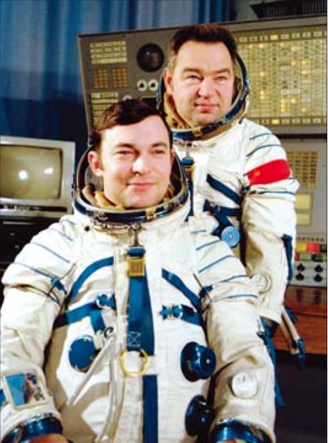 Grechko y Yuri ROmanenko.