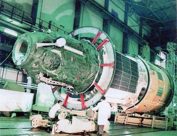 La estación Salyut 4 (DOS 3).