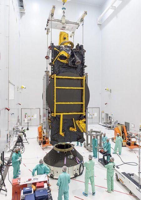 Satélite SGDC (Arianespace).