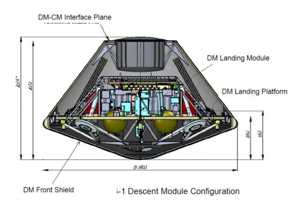 Módulo de descenso de ExoMars 2020, fabricado en colaboración con Rusia (ESA).