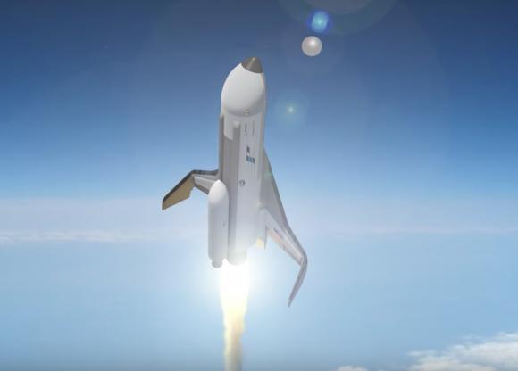 Despegue del XS-1 (DARPA).